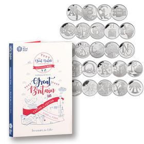 26枚英文字母纪念币官方装帧版套装