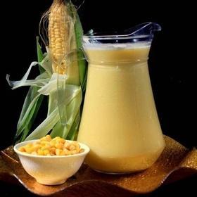 [雪尔商行]速冻原浆玉米汁(解冻开袋烧开即饮)