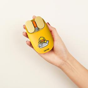 「小黄鸭授权限定款丨触控手势操作」洛斐薯片蓝牙鼠标 双模式连接 | 兼容多系统丨5档DPI快速切换丨操控便捷 | 小巧无束缚丨超长续航