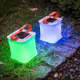 【为思礼】【太阳能充气灯】LuminAID太阳能充气式防水LED灯 户外骑行烧烤露营折叠照明灯