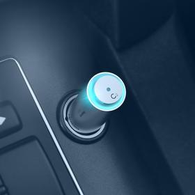 「车载香氛、快充、氛围灯三合一」麦科多车载香氛快充 汽车充电器快充 USB插头