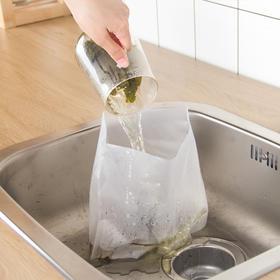 【加厚款】日本厨房水槽自立式沥水垃圾袋隔水袋 排水口剩饭菜渣过滤水切袋