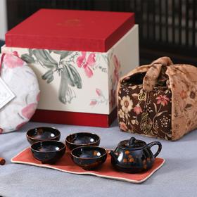 亦茶亦画   古树普洱茶器礼  茶叶&茶器