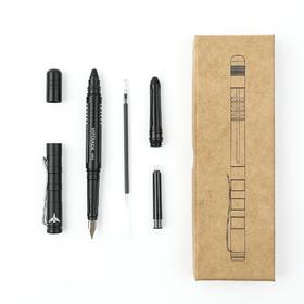 【钨钢攻击头】獠牙多用途战术钢笔