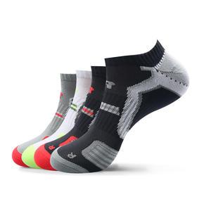 排汗透气速干袜(4双)透气控温 速干排汗 为运动而生