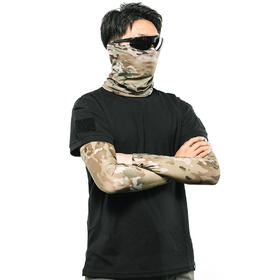 【爱默生3D弹力防晒】UPF50+户外防晒防虫护臂面罩套装