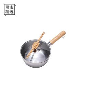 日本进口神田雪平锅 多功能家用不锈钢锅奶锅汤锅