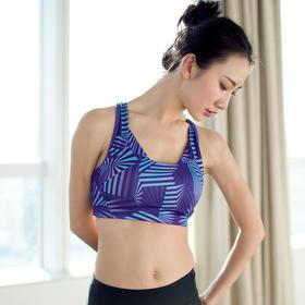 女款运动文胸 - 高支撑稳定无钢圈内衣