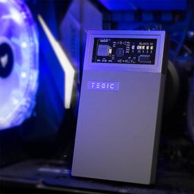 【分销】TEGIC/特极客 BLOCK冰格透视移动电源 快充自带线充电宝 苹果Lightning / Type-C