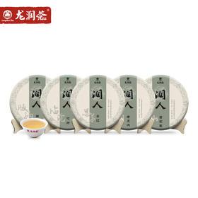 【新品】龙润茶润人飞饼普洱茶生茶 尝遍四大茶区普洱茶饼套装