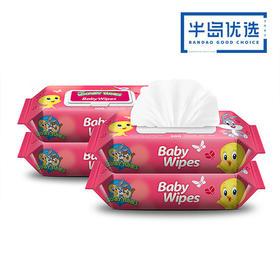 婴美洁 婴儿湿巾 100抽 10包
