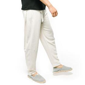 【佛系青年下篇】简约古风凉感舒适裤