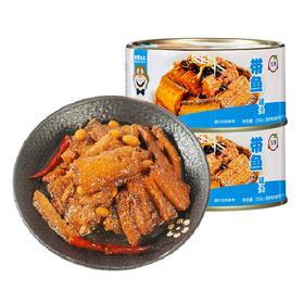 美味锁鲜的带鱼罐头 4罐装