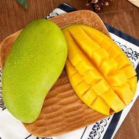 越南芒果玉芒果新鲜水果包邮青芒当季甜心芒大整带箱10斤