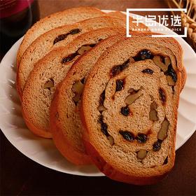 营养早餐坚果列巴约500g全麦吐司面包切片装夹心蛋糕整箱零食品代餐