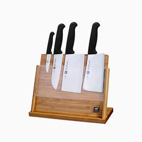 双立人 Enjoy系列磁性刀架款刀具5件套