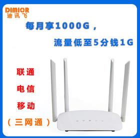迪讯飞-CPE623随身携带路由器/告别网线约束/轻松办公