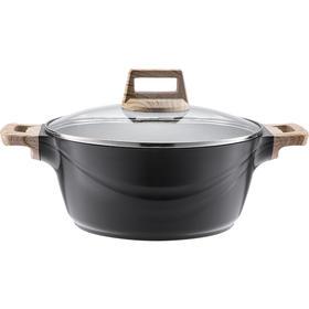 【精选】德铂克劳迪麦饭石锅 | 锅炉通用 容易清洗 不易粘结 | 一个装【厨房用品】
