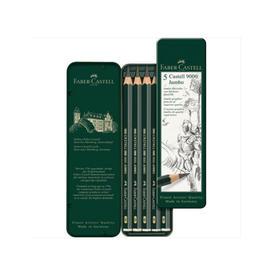 德国辉柏嘉  Castell 9000     粗杆绘图素描铅笔 单支 / 5支装  1193