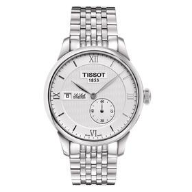【国内现货】TISSOT天梭 力洛克系列自动机械手表 银盘钢带男表T006.428.11.038.00 Z