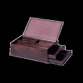 平仄·红木多彩竹嵌首饰盒