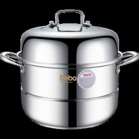 【精选】德铂沃里克304不锈钢锅 | 聚能导热 节约能源  厚实耐用 | 一个装【厨房用品】