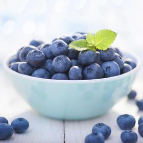 【生鲜果蔬】竹山朕妃尝蓝莓125g/盒×2盒