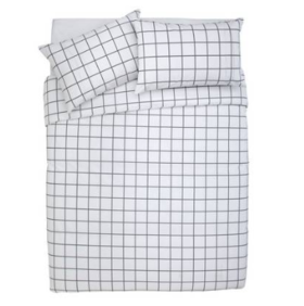 Double 3/4 Bed 双人床小双床 床品7件套装