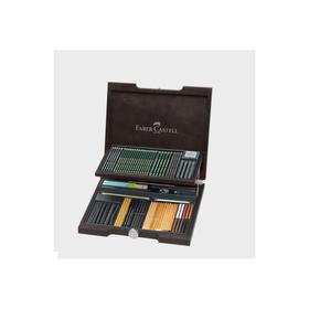 德国辉柏嘉  PITT MONOCHROME素描木盒85件套装