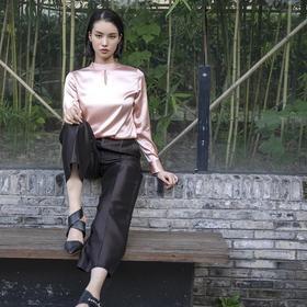 Carmen Shirt 中国扣衬衫