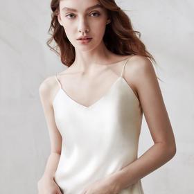 「Zeroth.Lab 私奔」真丝细吊带衫 | 6A级桑蚕丝,细而柔滑,性感迷人