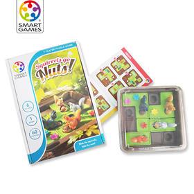 比利时smartgames原装进口 疯狂松鼠 儿童逻辑思维益智通关玩具 6岁+