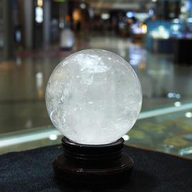 水晶摆件*白水晶球