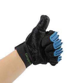 【猫毛狗毛,一撸就干净】国产宠物清理手套洗澡按摩手套除毛刷 一只起 23.5cm×17.5cm