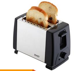 【小家电】全自动烤面包机多士炉家用三明治机多功能早餐机 T-02