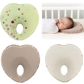 【家纺】.新生儿心形定型枕头婴儿塑形枕头 防偏头枕头0.1KG
