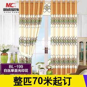 布料/印花系列/BL199-白丝单面光印花