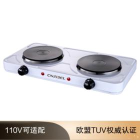 【小家电】 双头双炉双灶双板电热炉厨房礼品台湾小家电外贸110v电器