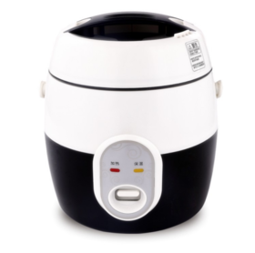 【小家电】小家电 1.2L迷你电饭煲学生多功能电热饭盒白领小型蒸煮锅