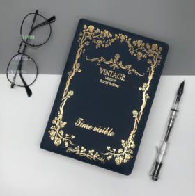 【办公文教】PU绑带笔记本定制logo复古多功能日记本学生创意记事本办公文教
