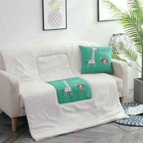 【家纺】.功能抱枕被 空调被靠垫抱枕礼品赠送沙发汽车靠枕