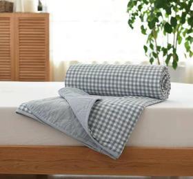 【家纺】.夏季薄被被芯家纺舒适印花夏被水洗棉单人空调被可机洗200*220