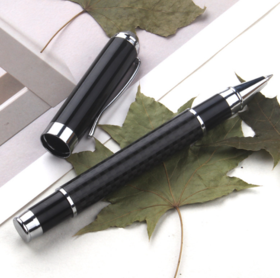 【办公文教】 水笔 碳纤维签字笔广告金属礼品笔文教用品办公
