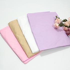 防水防油欧式花开洞床单粉色紫色白色驼色