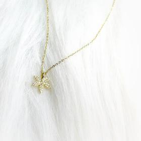 尚镁S925银枫叶时尚项链
