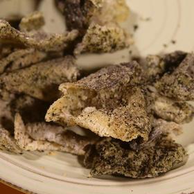 [香脆鱼皮]港式街头人气小吃 25g/包 8味混合装