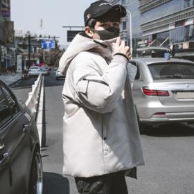 【羽绒服】*冬季羽绒服男潮短款 韩版青年学生加厚男士 外套 | 基础商品