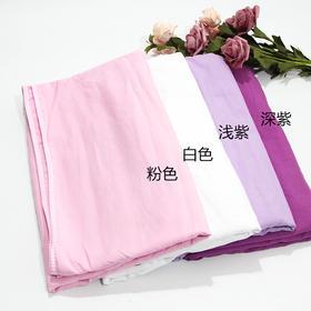 水洗棉床单(有洞)白色粉色深紫浅紫1.2*1.9