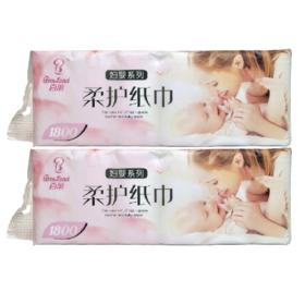 百丽妇婴系列柔护纸巾1800G