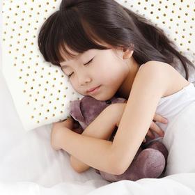 一默 乳胶幼童枕 儿童乳胶枕 人体工学进口乳胶儿童枕 学生乳胶枕 2-7岁宝宝